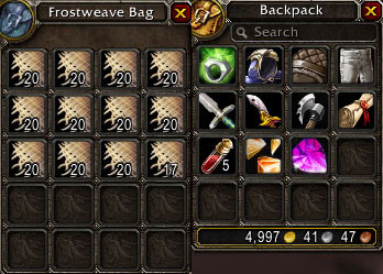 Linen Cloth Farming Loot