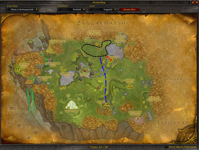 Great TBC Skinning Spot For Knothide Leather | RPGtutor WoW