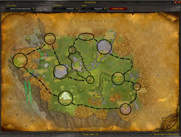 Nagrand Engineering and Mining Route