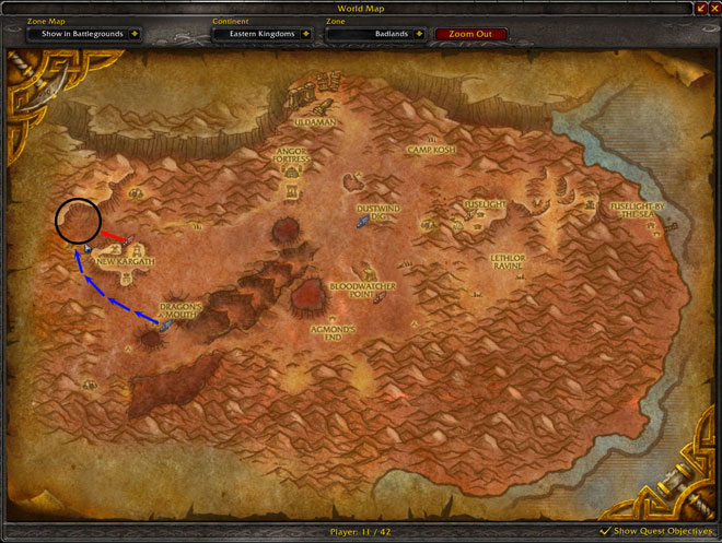 Ruins Of Kargath Skinning Map