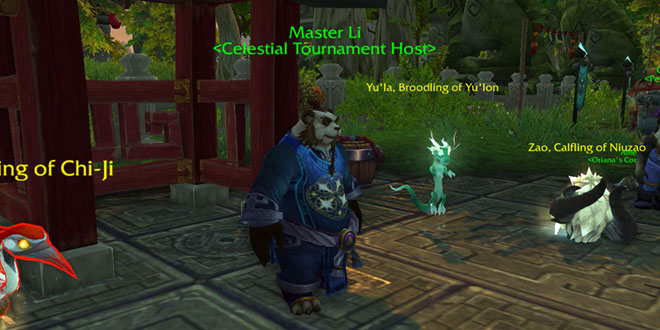 Master Li - Celestial Tournament Host