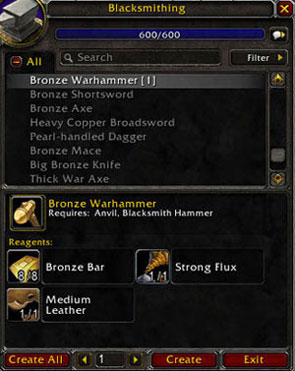 3 Weapons To Craft And Sell For Transmogrifications
