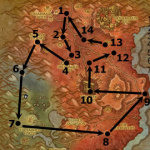 Blasted Lands Rares Route