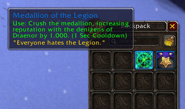 Medallion of the Legion