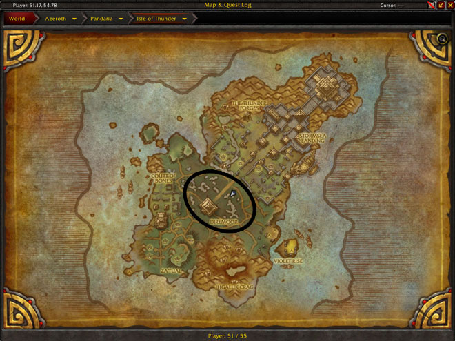 Diremoor Location in Isle of Thunder